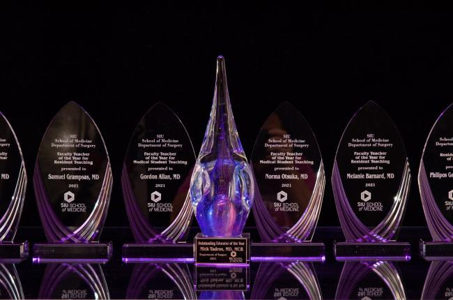 crystal awards for surgical education