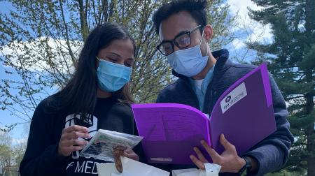 Medical Students at Student Day of Service