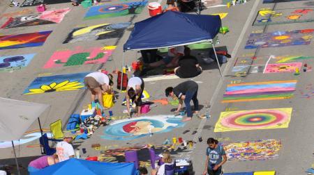 Springfield Illinois Paint the Streets